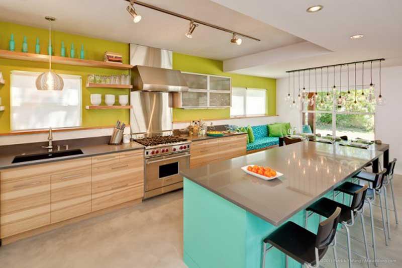 Colorful-Mid-Century-Kitchen