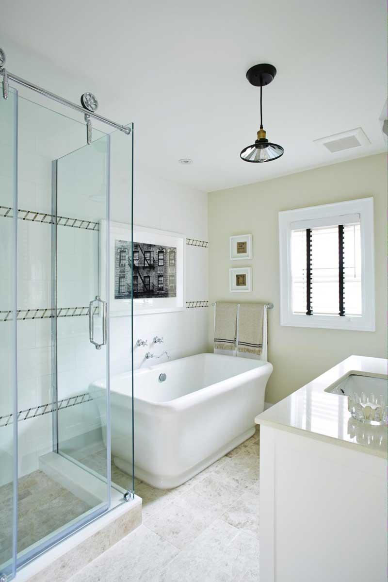 Industrial Modern Bathroom