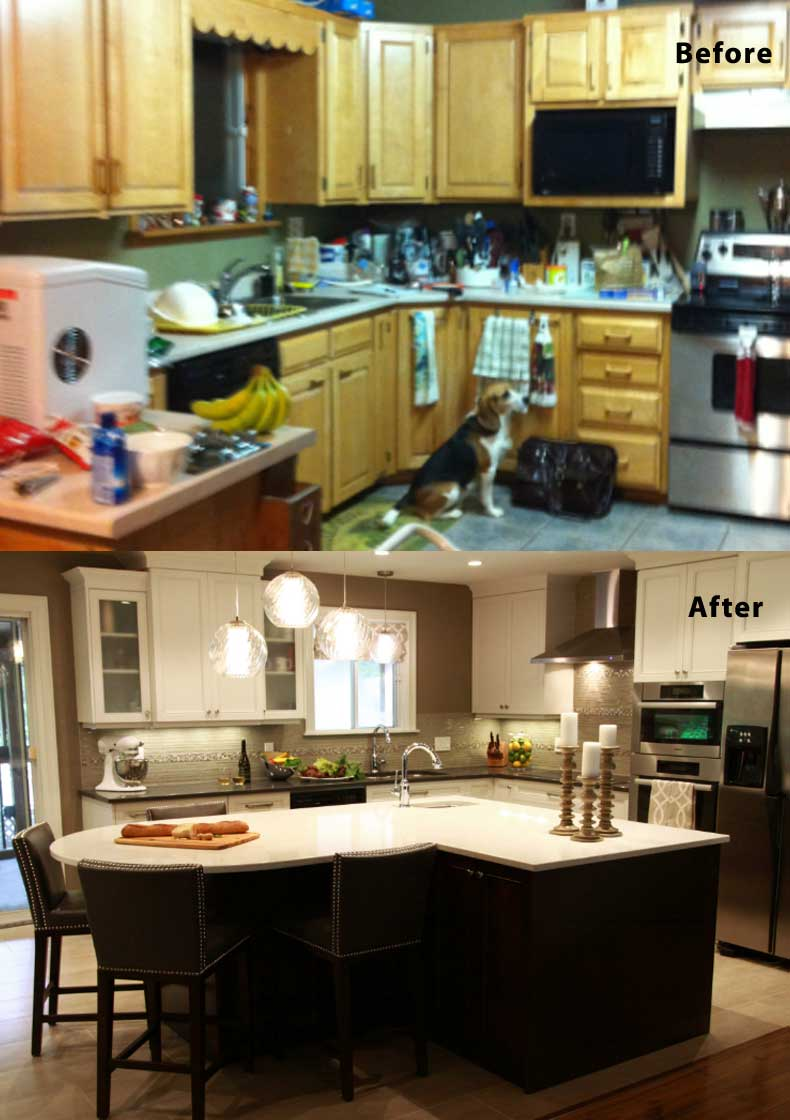 Kitchen remodel ideas before and after 11
