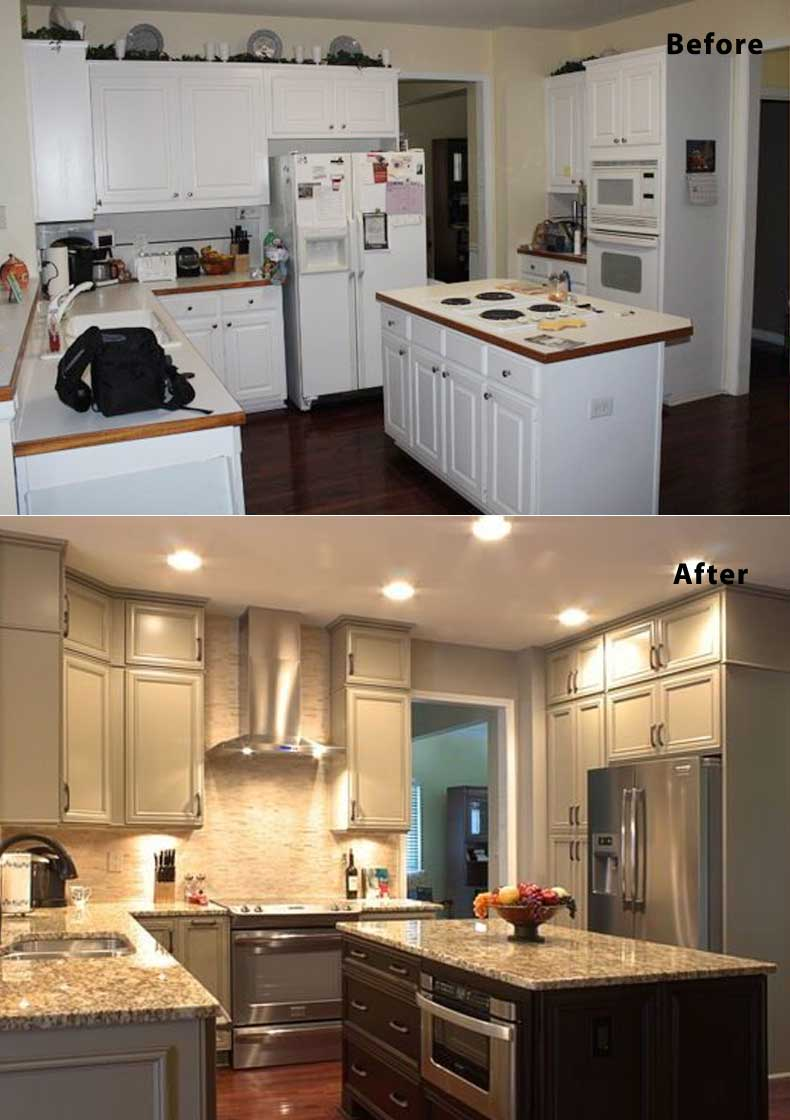 Kitchen remodel ideas before and after 15