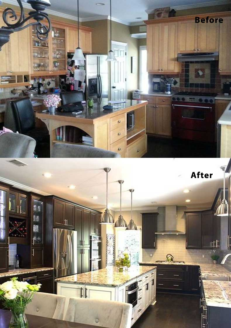 Kitchen remodel ideas before and after 17