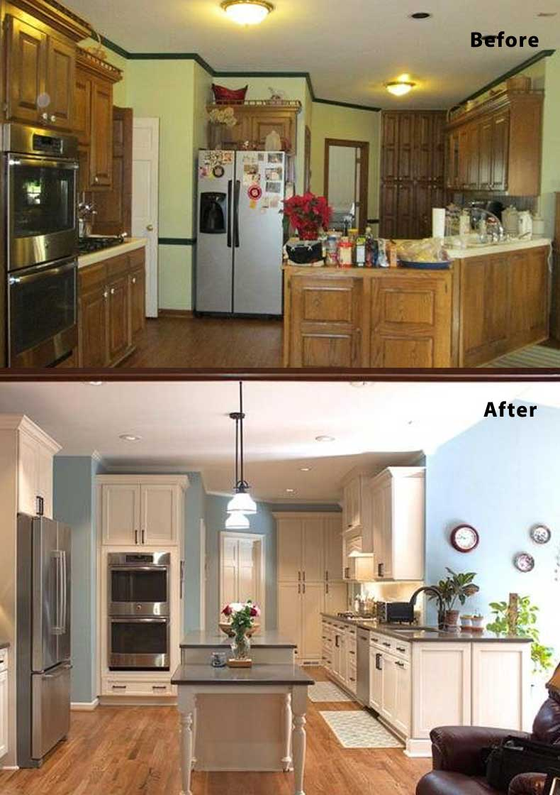 Kitchen remodel ideas before and after 18