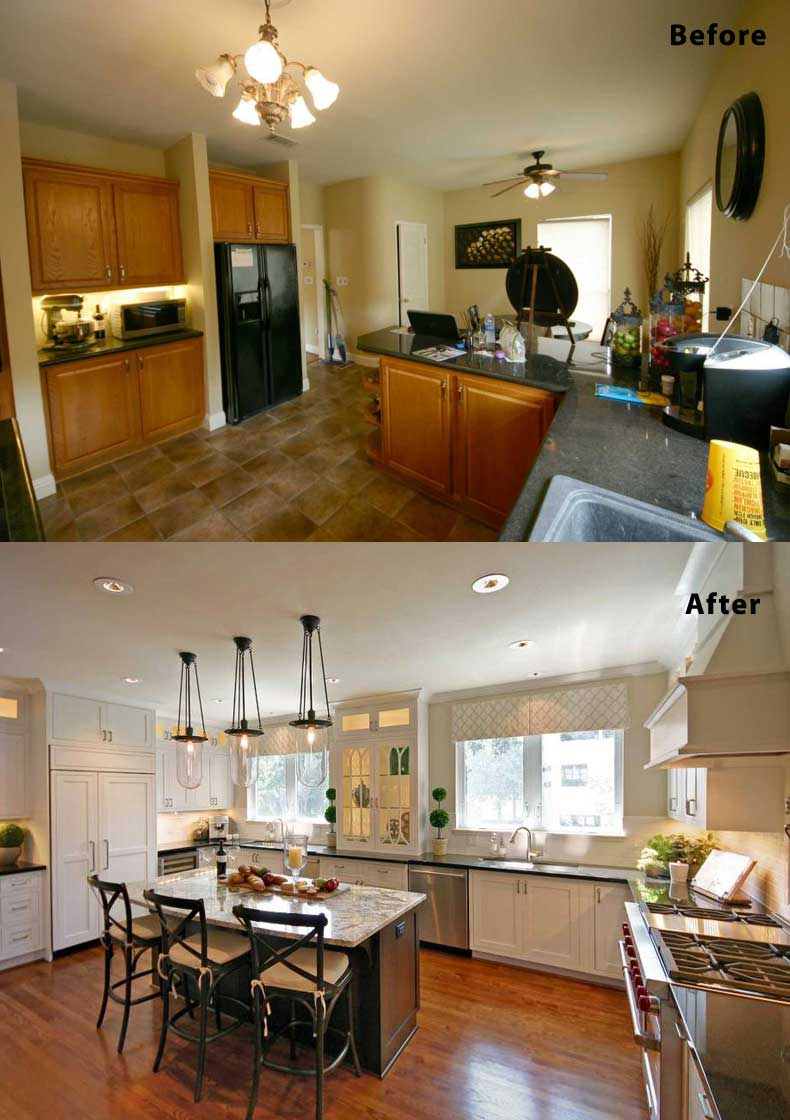 Kitchen remodel ideas before and after 19