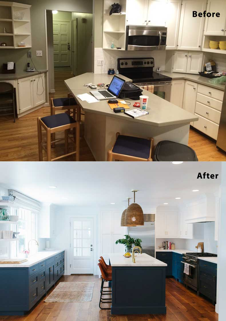 28 kitchen remodel ideas before and after kitchen u for Kitchen remodel ideas before and after