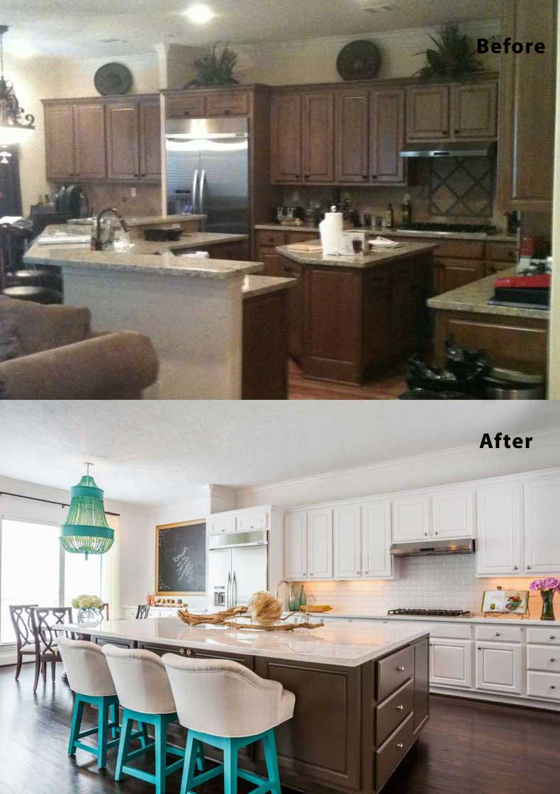 Kitchen remodel ideas before and after 20