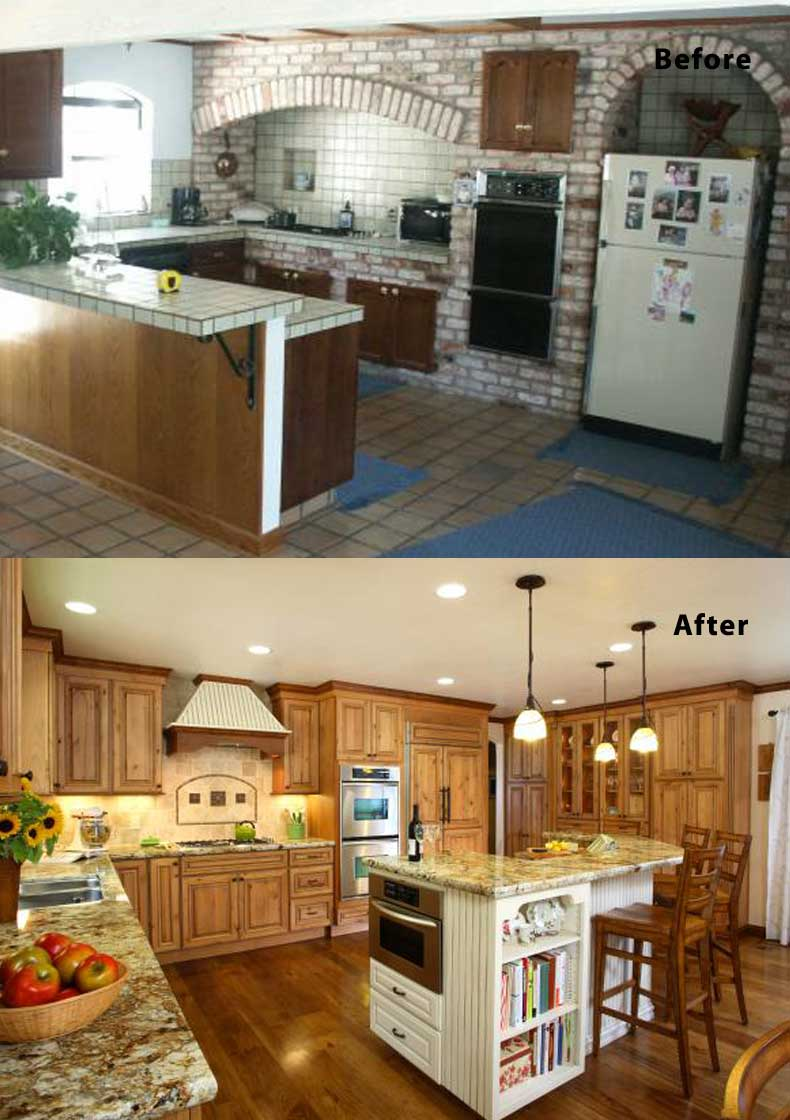 Kitchen remodel ideas before and after 23