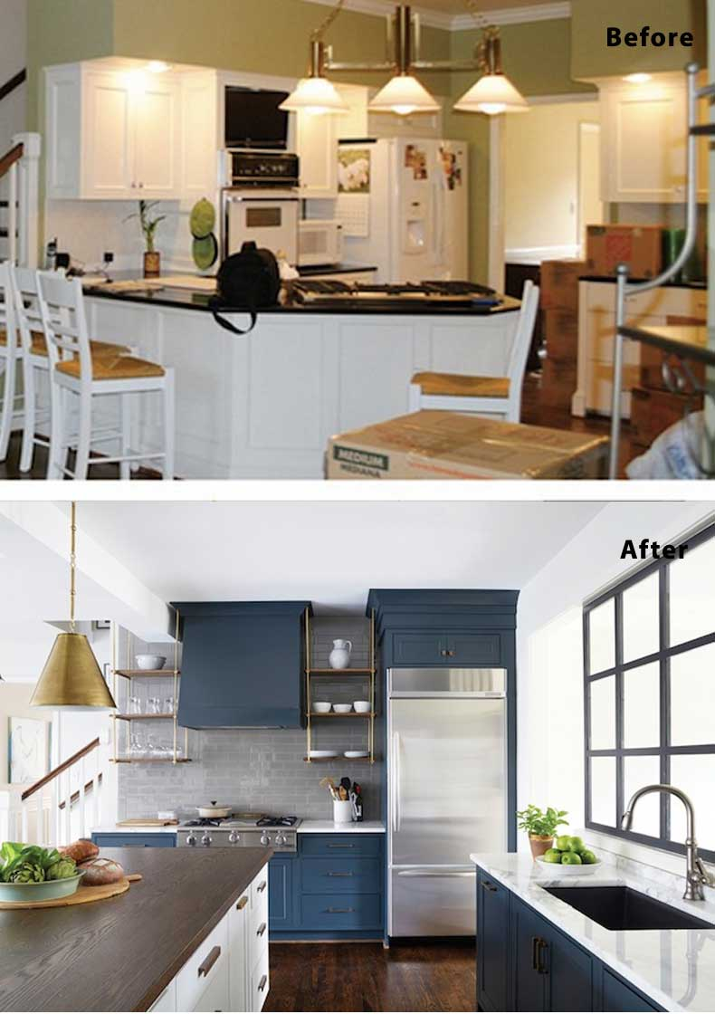 Kitchen remodel ideas before and after 06