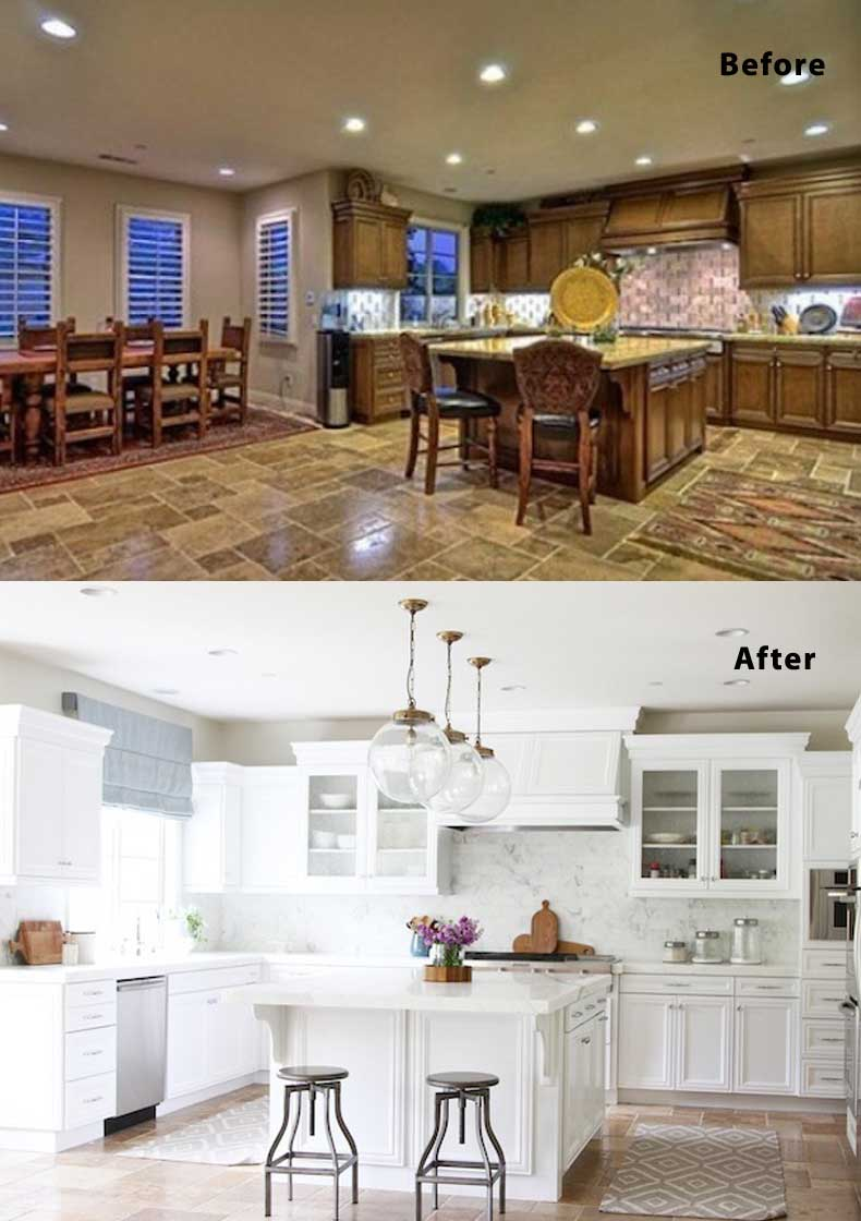 Kitchen remodel ideas before and after 07