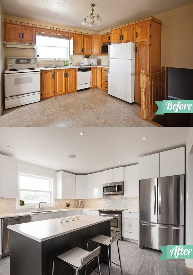 Kitchen remodel ideas before and after 08