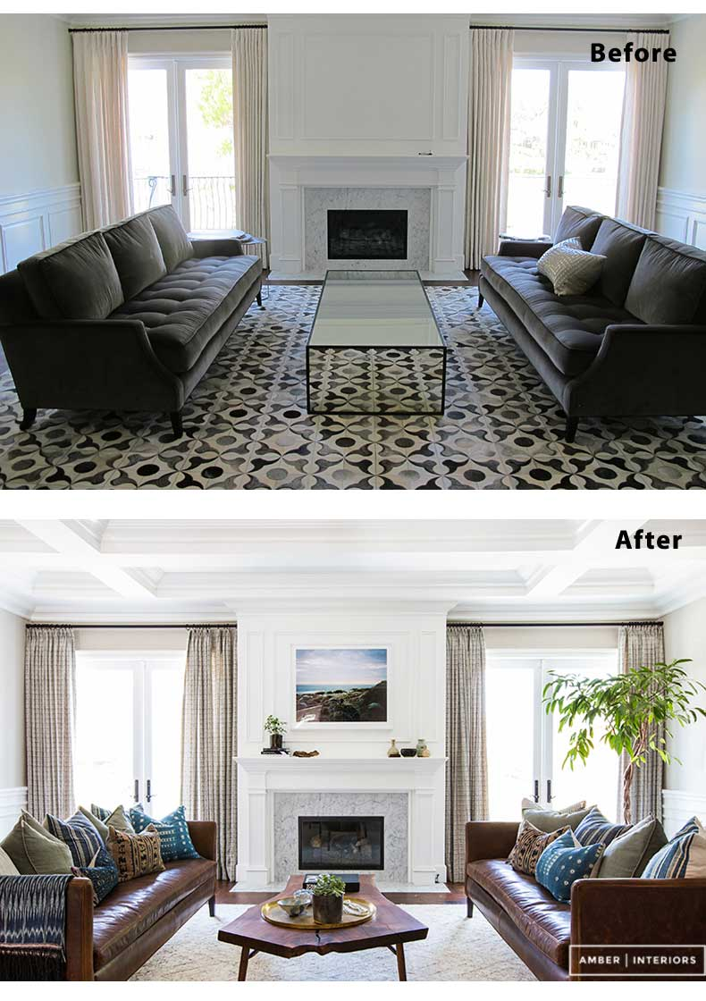 Living Room Remodels Before and After 01