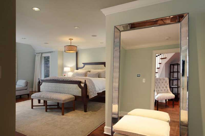 Master Bedroom with Full Length Mirror
