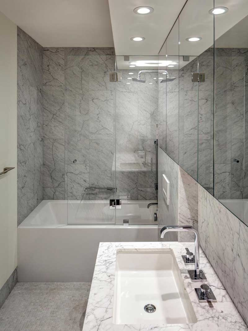 11 Modern Small Bathroom Design Ideas - Homeluf.com