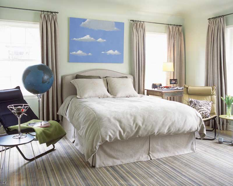 Bedroom With Neutral Color Palette