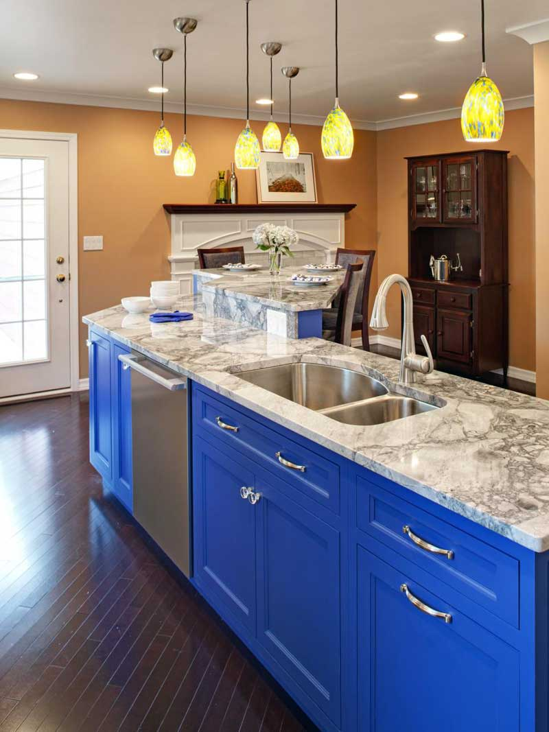 50 Gorgeous Kitchen Island Design Ideas - Homeluf.com on