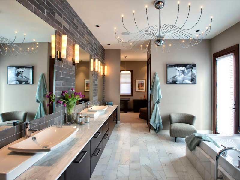 Bathroom with Ceramic Tile