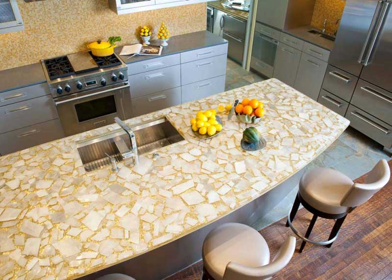Custom Kitchen Countertop