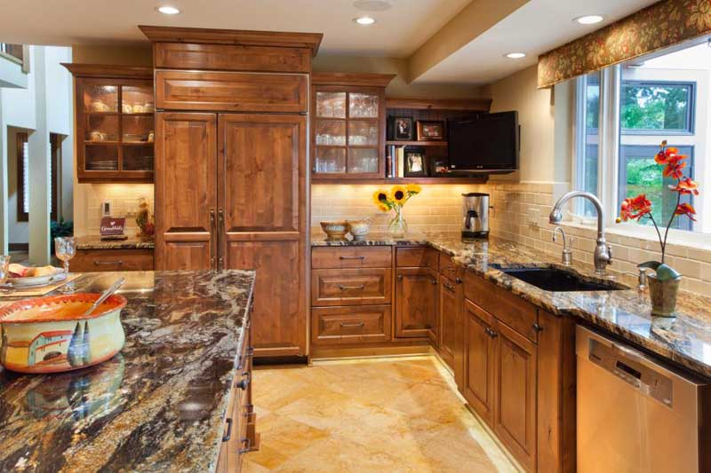 Dark Stone Countertops