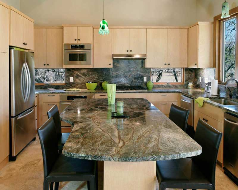 43 Kitchen Countertops Design Ideas (Granite, Marble, Quartz And Stone) Part 96