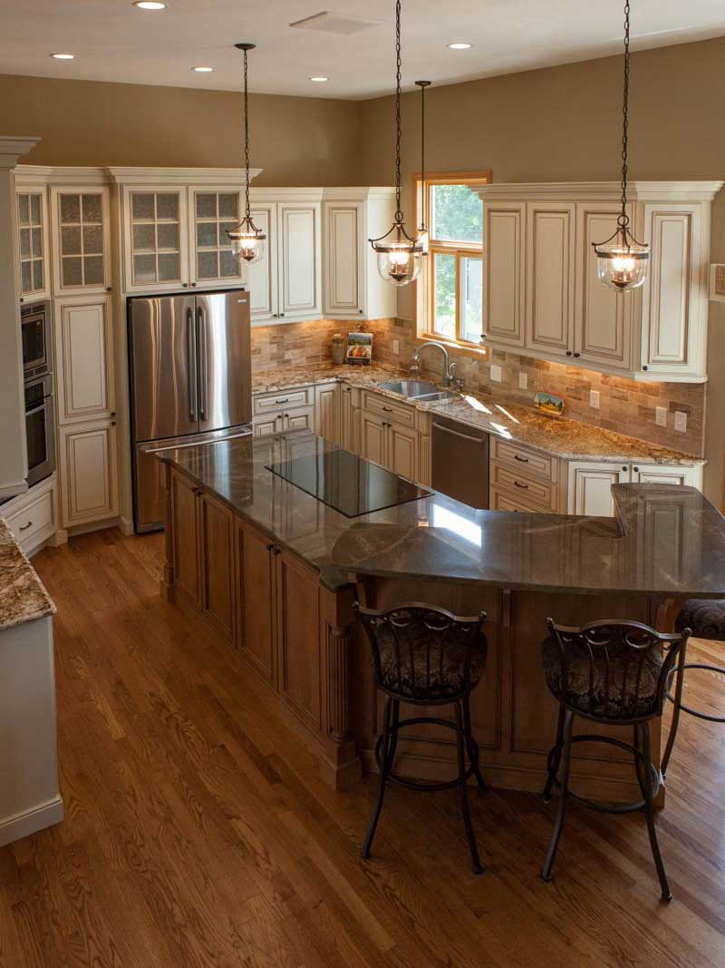 maple kitchen island 50 gorgeous kitchen island design ideas homeluf com 5870