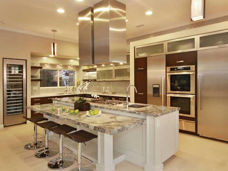 Modern Style Kitchen Island