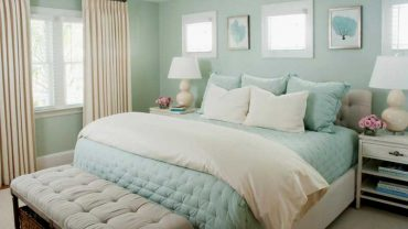 Seafoam Green Bedroom color schemes