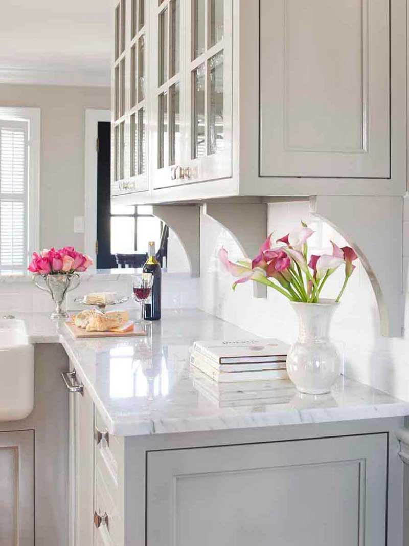 White Marble Countertop
