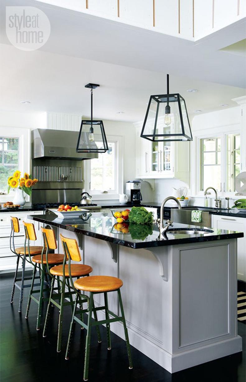 marvelous kitchen island pendant lighting ideas   35 Beautiful Kitchen Island Lighting Ideas - Homeluf