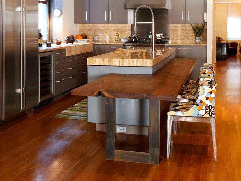 50 Gorgeous Kitchen Island Design Ideas Homelufcom