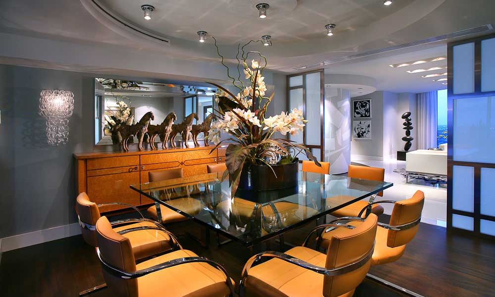 100 dining room lighting ideas for Dining room recessed lighting