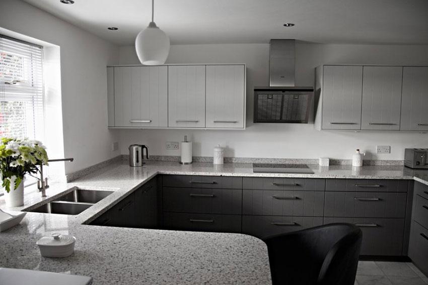 Granite countertops top 25 best white granite colors for for Bethel kitchen designs