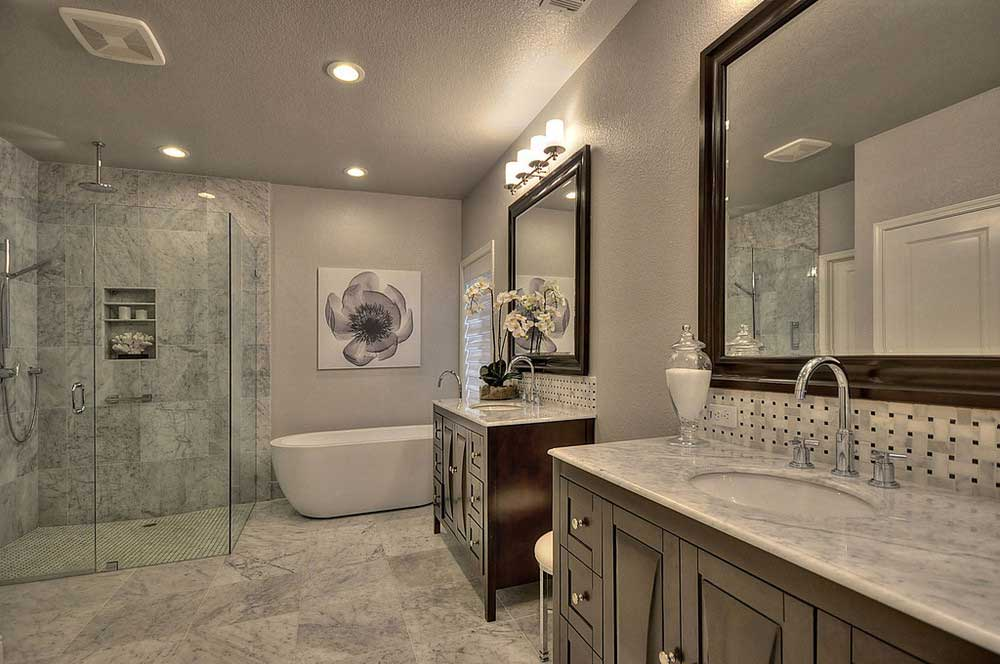 26 perfect master bathroom fixtures for Cool master bathrooms