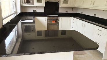 Black pearl silk granite countertops