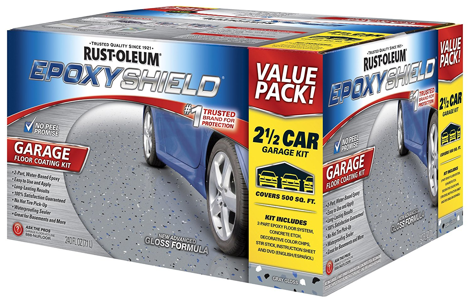 Best Epoxyshield Garage Floor Coating Homeluf Com