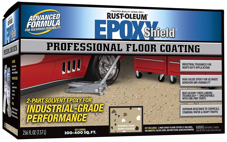 Rustoleum Epoxyshield Garage Floor Coating Review Homeluf