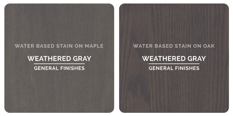 General Finishes Weathered Gray Stain