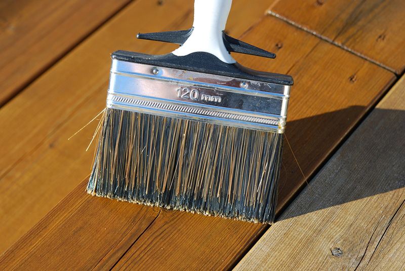 ROLLINGDOG Woodmaster Stain 150mm Brush Great for Painting and staining Decks Fences and Stairs
