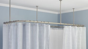Clawfoot Tub Shower Curtain Rods