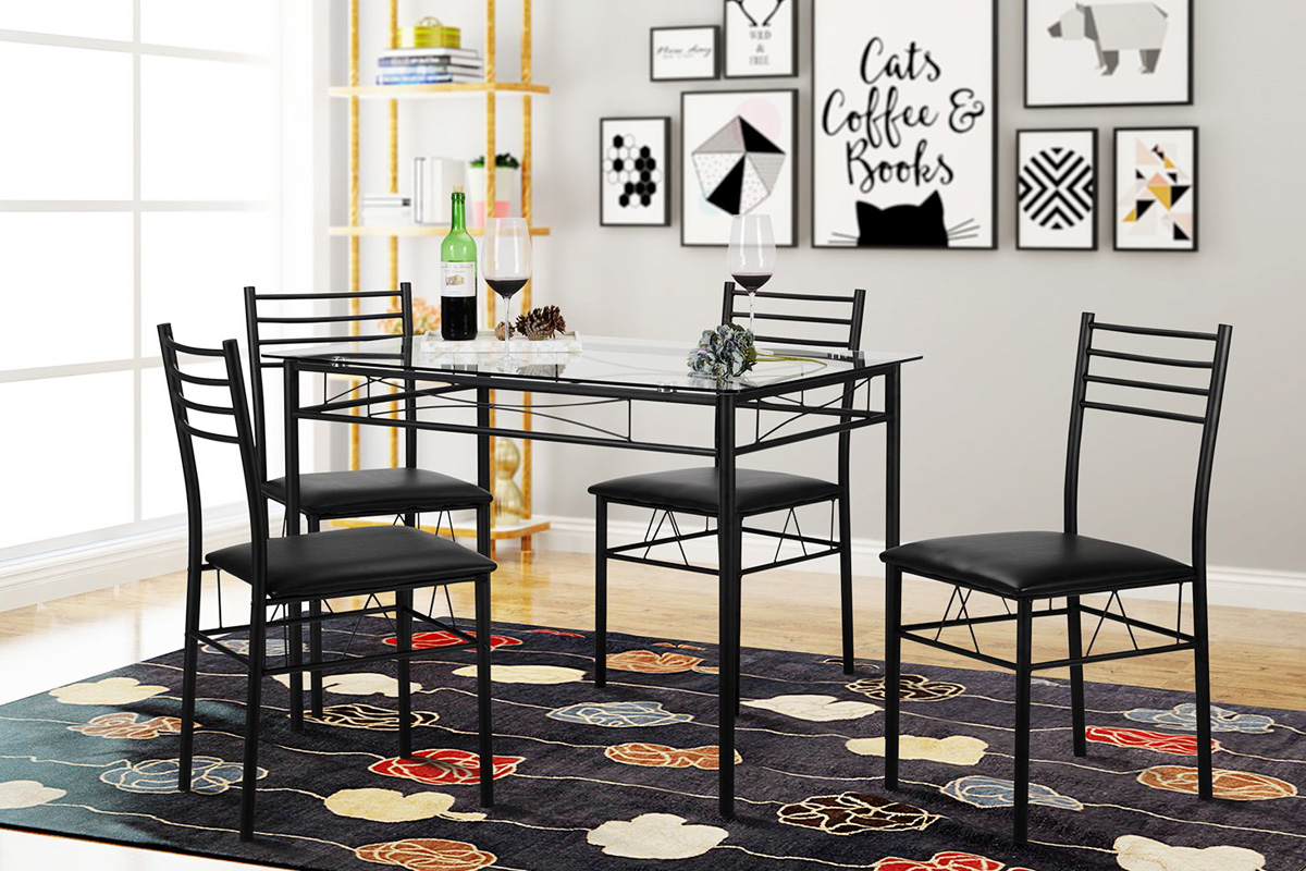 9 Cheap Kitchen Table Sets Under $9   Homeluf.com