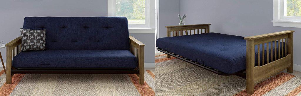 DHP Newport Futon Sofa Bed