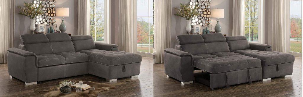 Homelegance Ferriday Sectional Sleeper Sofa