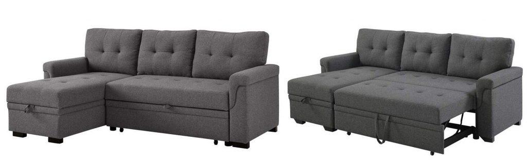 Lilola Home Reversible Sleeper Sofa