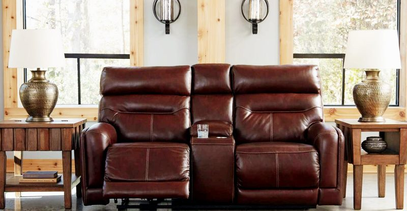 Best Leather Power Reclining Loveseats