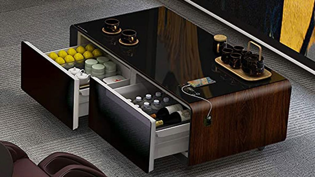 Best Smart Coffee Table with Refrigerator