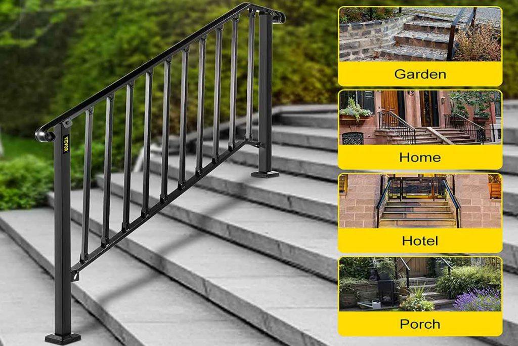 Best Outdoor Metal Stair Railing Kits