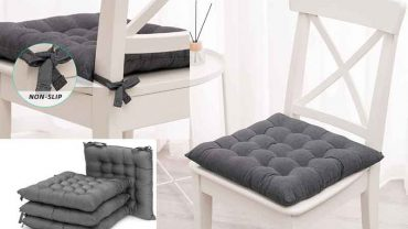 Cushions with Ties for Kitchen Chairs