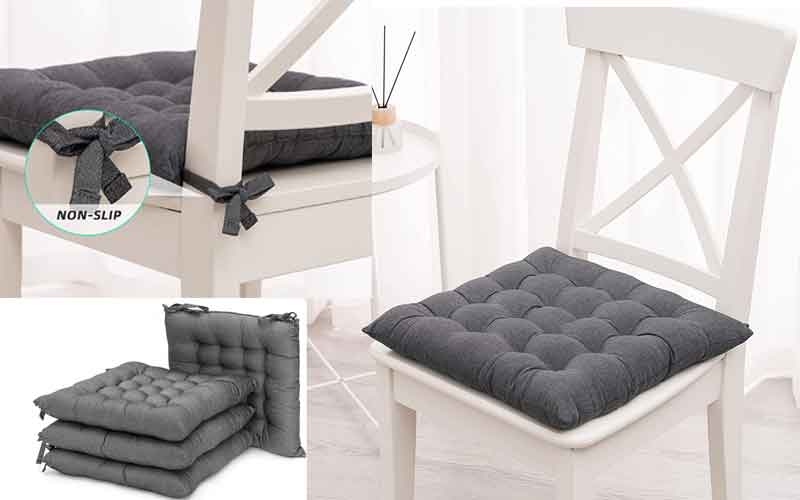 Best Cushions with Ties for Kitchen Chairs