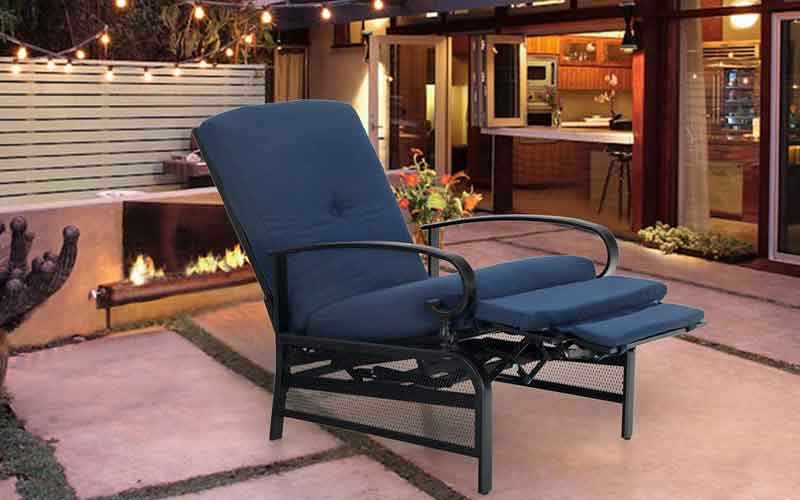 Outdoor Reclining Chairs With Footrests